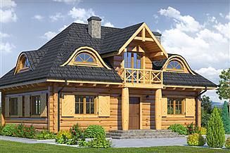 Projekt domu Chmielniki małe dw 19