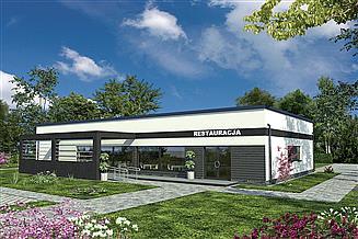Projekt restauracji Murator UC59 Budynek usługowy