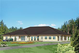 Projekt budynku usługowego Murator UC20b Budynek usługowy