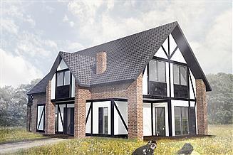Gotowe Projekty Domów Szachulec Mur Pruski Gwarancja Najniższej