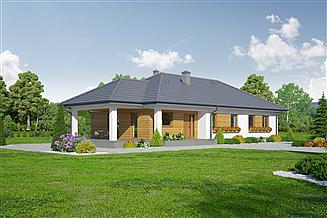 Projekt domu Piaseczno senior