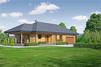 Projekt domu Piaseczno 3gg dws