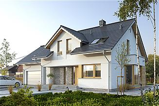 Projekt domu Praktyczny 4A