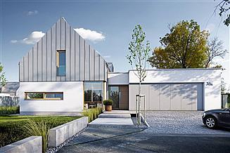Projekt domu Nowoczesny 1