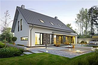 Projekt domu Atrakcyjny 3A