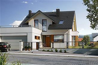 Projekt domu Praktyczny 2