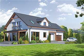Projekt domu Osiek 55 dws