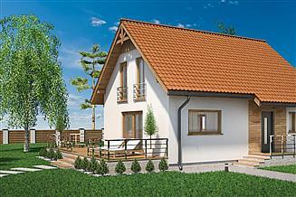 Projekt domu Domek Nieduży mini (010 es mini)