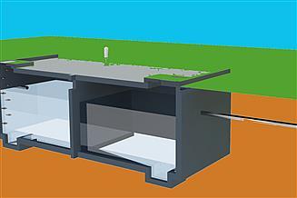 Projekt zbiornika na gnojowicę BR 235