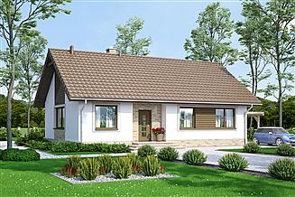 Projekt domu Mokka 3