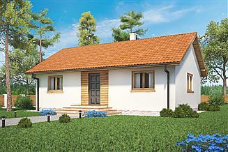 Projekt domu Domek Miodowy (003 ET)