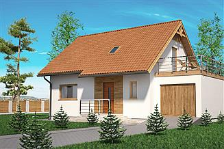 Projekt domu Domek Na Miodowej (026 ES+GT)