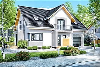 Gotowe Projekty Domów Z Garażem Gwarancja Najniższej Ceny Extradom