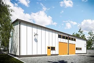 Projekt magazynu G270 - Budynek magazynowy
