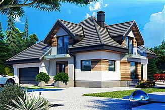 Projekt domu Opałek III N 2G+