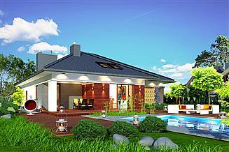 Projekt domu Domidea 2 d