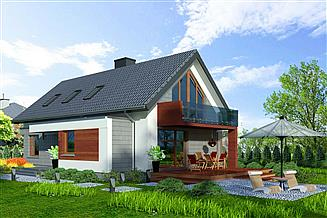 Projekt domu Domidea 50 d40 w4