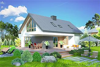 Projekt domu Domidea 51