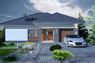 Projekt domu Domidea 55