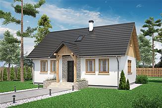 Projekt domu Domek Lipowy (020 Jk V2)