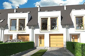 Projekt domu Diana B segment środkowy