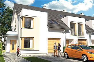 Projekt domu Diana Grande B segment lewy