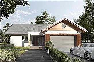 Projekt domu Telma - murowana – beton komórkowy