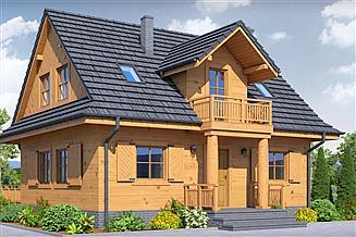 Projekt domu Cisowo dws