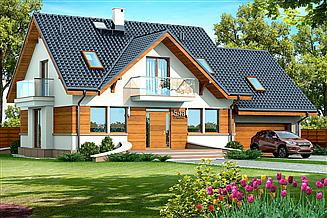 Projekt domu Karmelita Gold 2M