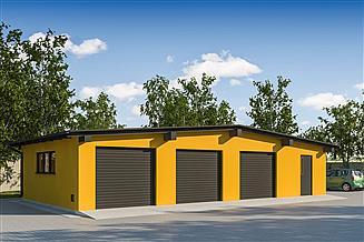 Projekt garażu G304 - Budynek garażowy