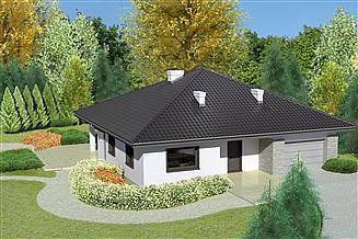 Projekt domu Dom przy Rubinowej 3 bis