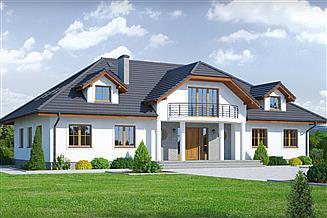 Projekt domu Gdów nowy 9x