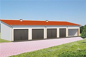 Projekt garażu BG 38