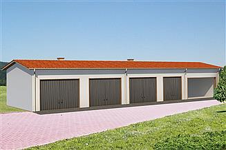 Projekt garażu BG 38a