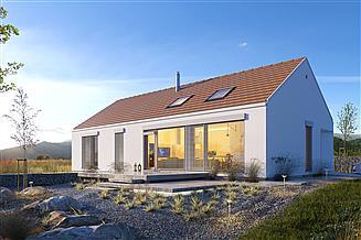 Projekt domu Ekonomiczny 1A