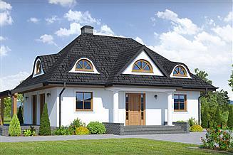 Projekt domu Chmielniki małe 15