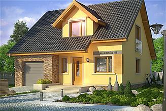 Projekt domu Absolwent 2