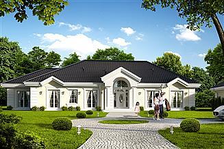 Projekt domu Rezydencja parkowa 4