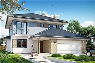 Projekt domu Szmaragd 5