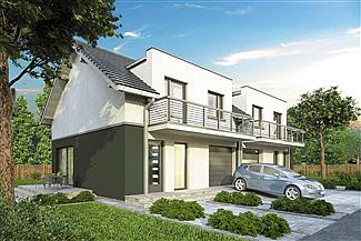 Projekt domu Double House II