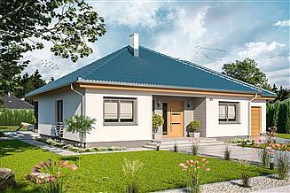 Projekt domu Tryton 2