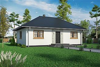 Projekt domu Domek Miodowy (003 ET-M)