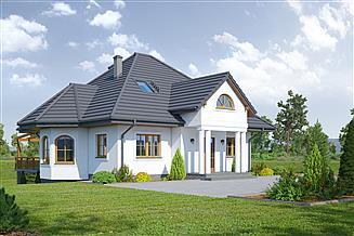 Projekt domu Zadębie małe 19x dws