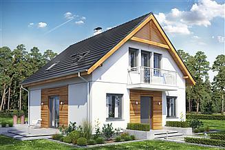 Projekt domu Baset 1 bez garażu