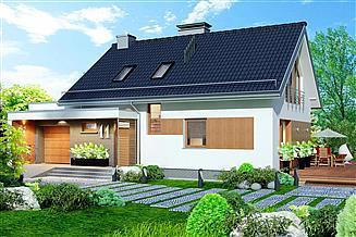 Projekt domu Domidea 58 G