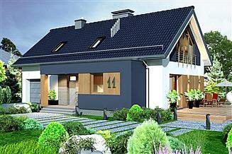 Projekt domu Domidea 60 dG