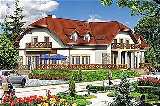 Projekt domu weselnego AI0104