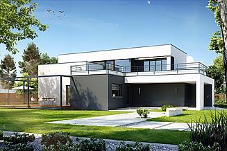 Projekt domu Komfortowy D15