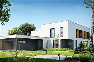 Projekt domu Nowoczesny D10
