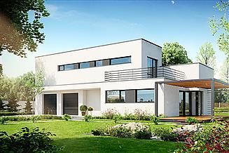 Projekt domu Zorganizowany D14